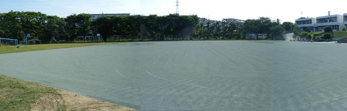 千葉市内小学校グラウンドafter画像