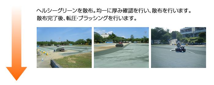 千葉市内小学校グラウンド経過画像