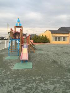 園庭改修工事 経年劣化 画像 1