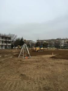 小学校 グラウンド改修