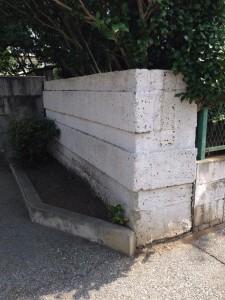 門扉 学校外壁補修工事