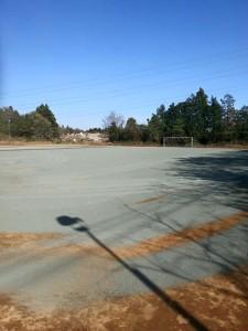 グラウンド防塵対策