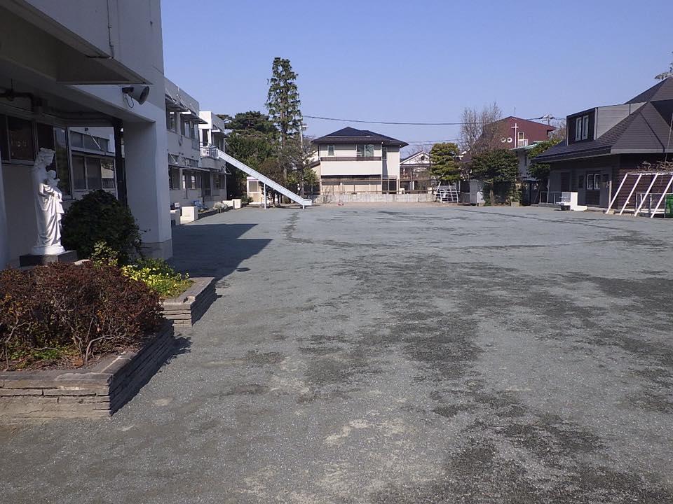 世田谷 幼稚園園庭
