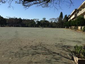 屋外運動場 防塵
