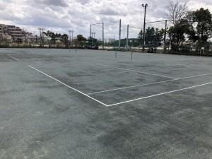 グリーンダスト テニスコート1