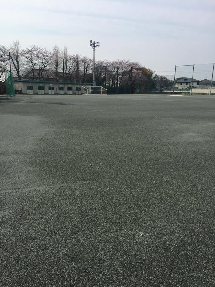 中学校グラウンド改修工事 改良工法
