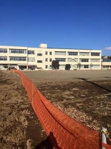 茨城県内 グラウンド整備工事 画像