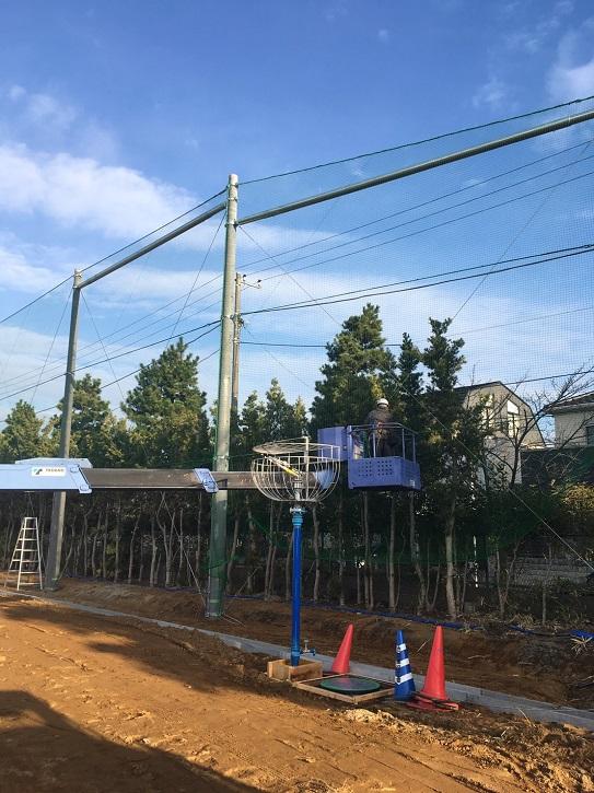 千葉県 防球ネット設置