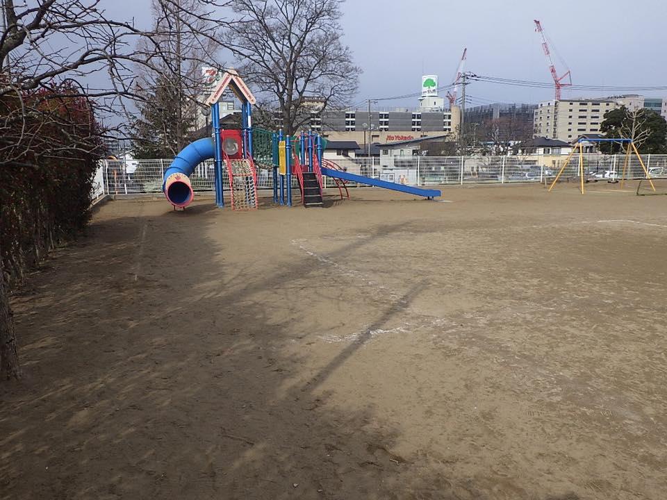 成田市内 園庭 着工前
