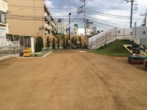 透水性保水型土舗装 ヘルシークレー