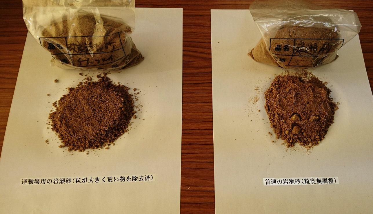 岩瀬砂 サンプル 改良 普通