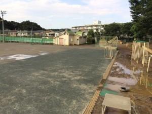 グラウンド 改良工事後の画像1