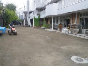 園庭 泥濘対策 ヘルシークレー1