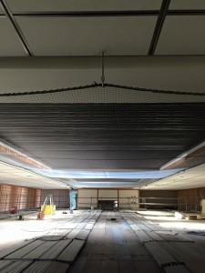 天井落下対策工事 完成画像
