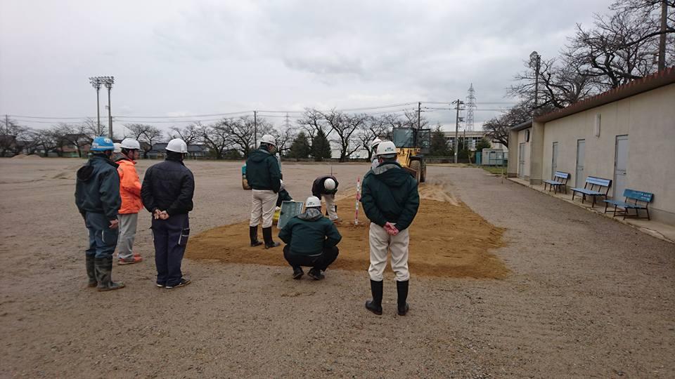 土壌改良工法 ヘルシークレー 富山県