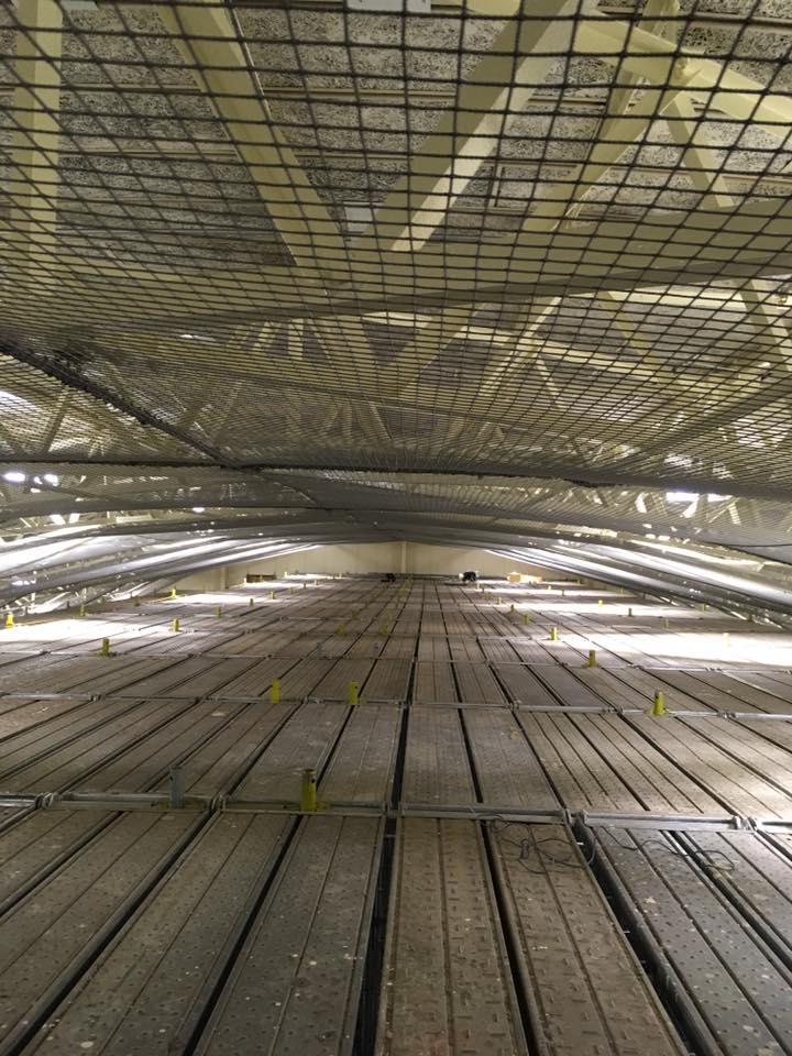 天井落下対策工事