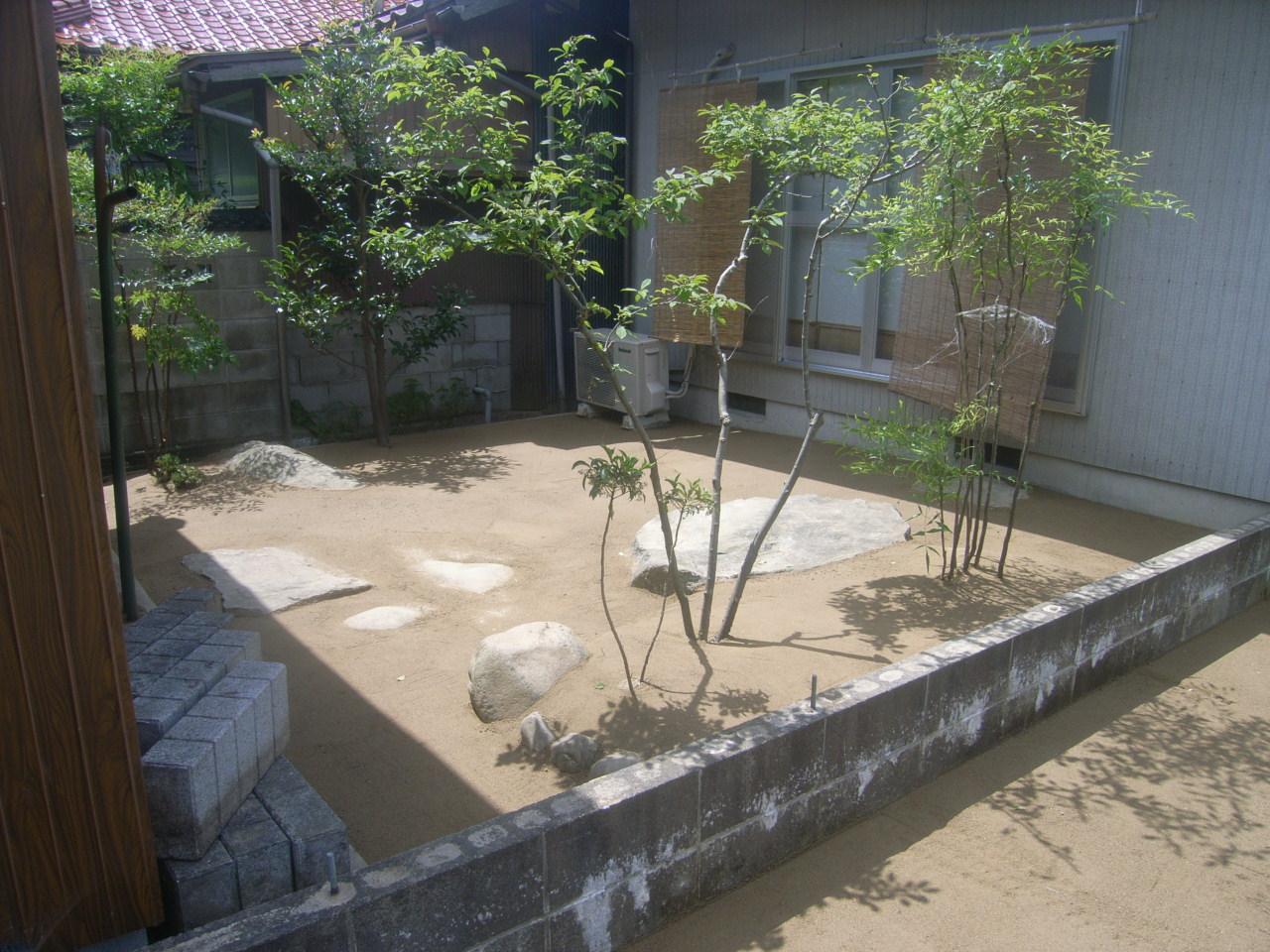 打ち水効果、保水、透水、水たまり、ぬかるみ対策