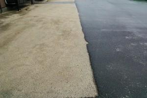 外構 透水性保水型土舗装