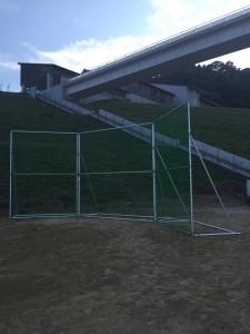 野球場 グラウンド ネット