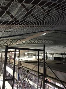天井材落下対策