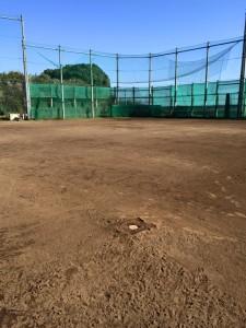 野球場内野 整備工事