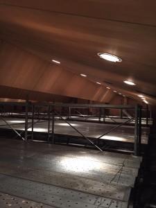 天井材落下対策工事 ネット 公共事業