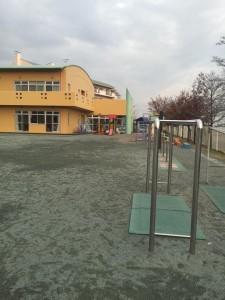 屋外運動場 新規工事 透水性保水型舗装 改良土
