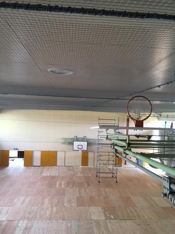 体育館 ホール 会館 天井落下対策工事