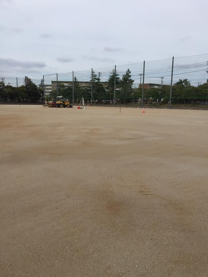 関東 真砂土 敷均し 改良工事