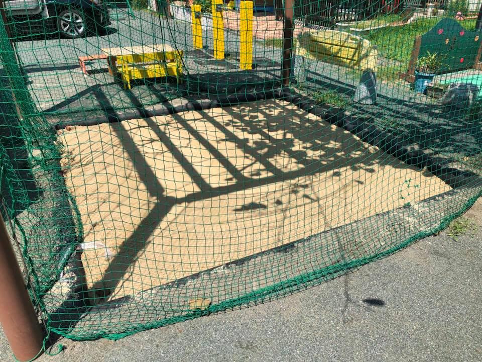 抗菌砂 ヘルシーグリーン 園庭