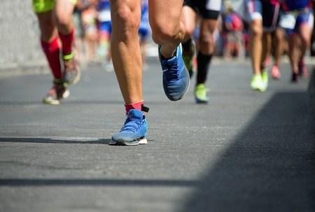 43456303 - marathon runners