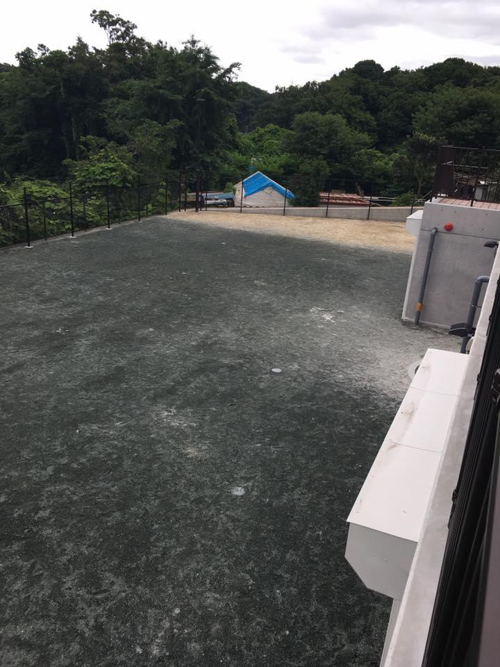 グラウンド 運動場 人工芝施工 熱中症 園庭