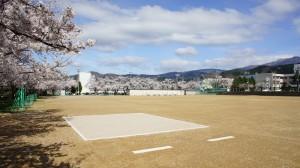 富山県南砺市 中学校グラウンド改修工事 実績