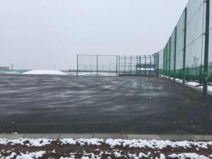 宮城県 秋田県 防球ネット施工業者 グラウンド 防塵