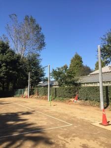 グラウンド 防球ネット 設計 千葉 施工