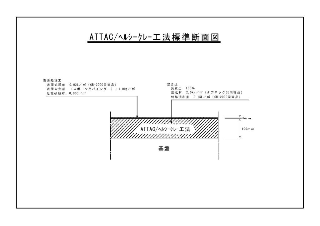 ヘルシークレー標準断面図0001