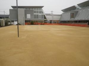 幼稚園園庭整備工事