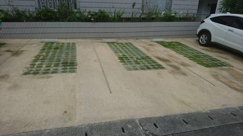 駐車場の熱さ 暑さ 対策 舗装材