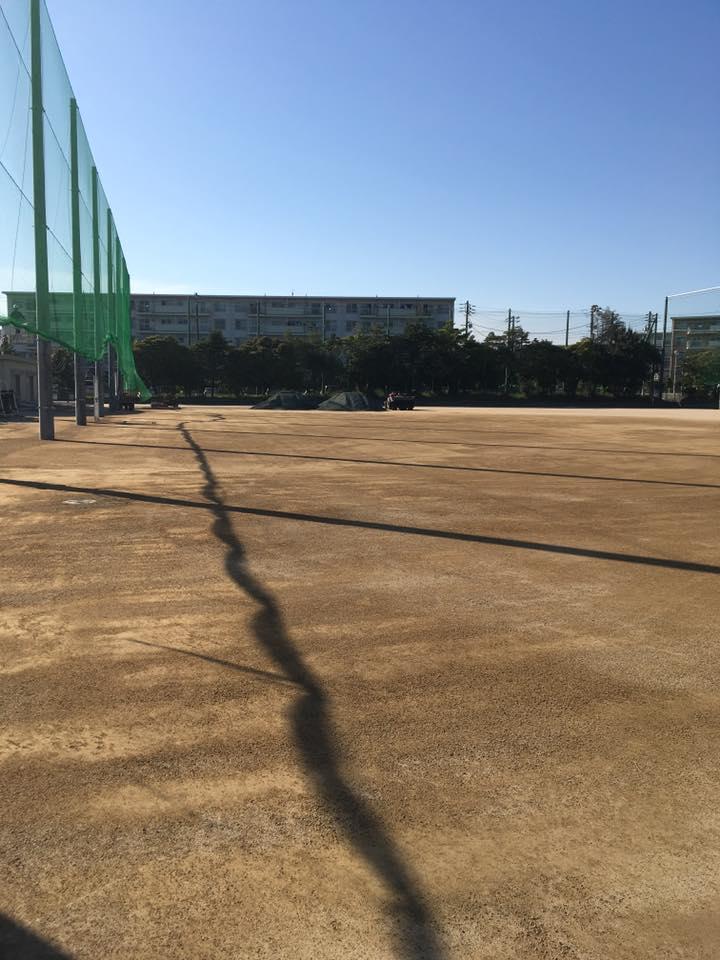 学校 運動場 土壌改良工法